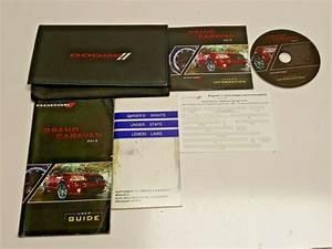 2012 Dodge Grand Caravan Owners Manual R  T Crew Sxt