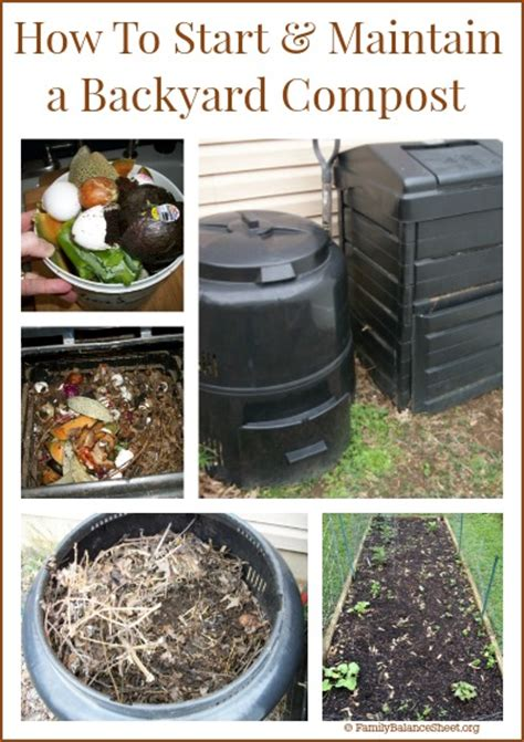 How To Backyard Compost how to start maintain a backyard compost