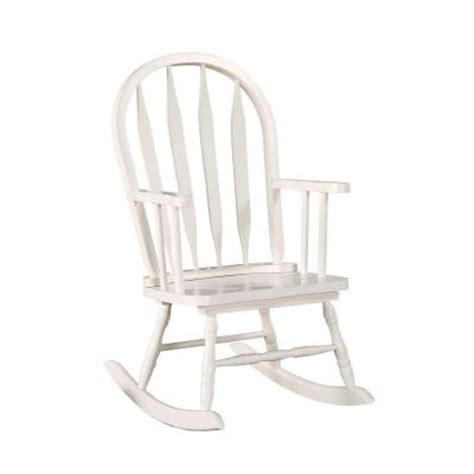 white arrow back juvenile rocking chair i 1501 the home