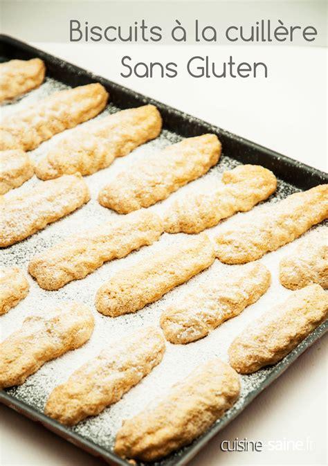 c est pas sorcier cuisine biscuits à la cuillère sans gluten cuisine saine