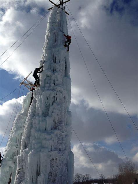 attraction profile  peabody ice climbing club flint