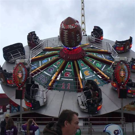SuperBowl Ride Hire | Themed Ride | Poplar Attractions