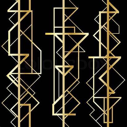 Deco Geometric Pattern 1920 Patterns Patroon Geometrisch