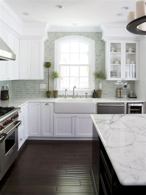 Permalink to White Cabinets Kitchen