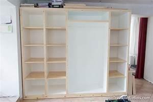 Fabriquer Un Dressing En Bois : fabrication d un placard 7 me partie travailler le bois ~ Dailycaller-alerts.com Idées de Décoration