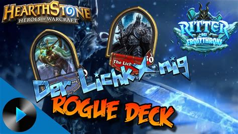 Hearthstone Ritter Des Frostthrons 💀 Soloabenteuer