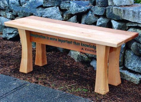 cedar garden bench plans woodarchivist