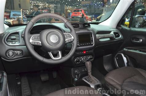 jeep renegade dashboard jeep renegade hard steel concept dashboard indian autos blog