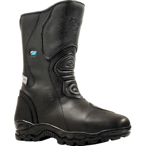 waterproof motorcycle touring boots spada terrain wp leather motorcycle boots touring