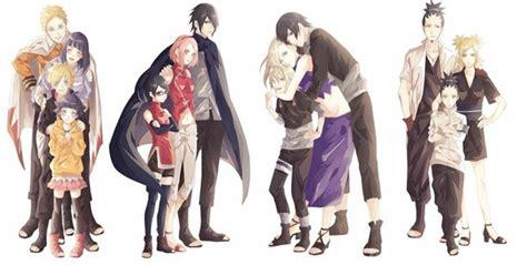 Famille, Naruto, Sakura, Sasuke, Tiède