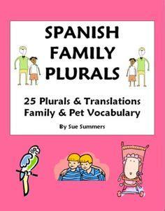 spanish family images spanish teaching spanish
