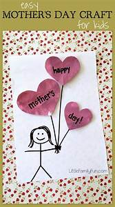 Little Family Fun: Mother's Day Balloon Craft for kids