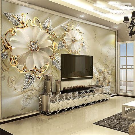 3d Wall Murals Wallpaper by Custom Flower Murals 3d Wall Murals Wallpaper For