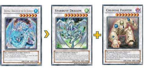 stardust deck 2015 duel anime analisis de carta