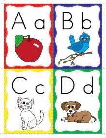 classroom freebies keyword alphabet flash cards
