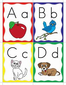 keyword alphabet flash cards classroom freebies With abc letters for classroom