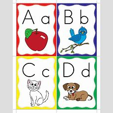 Alphabet Flashcards  Classroom Freebies