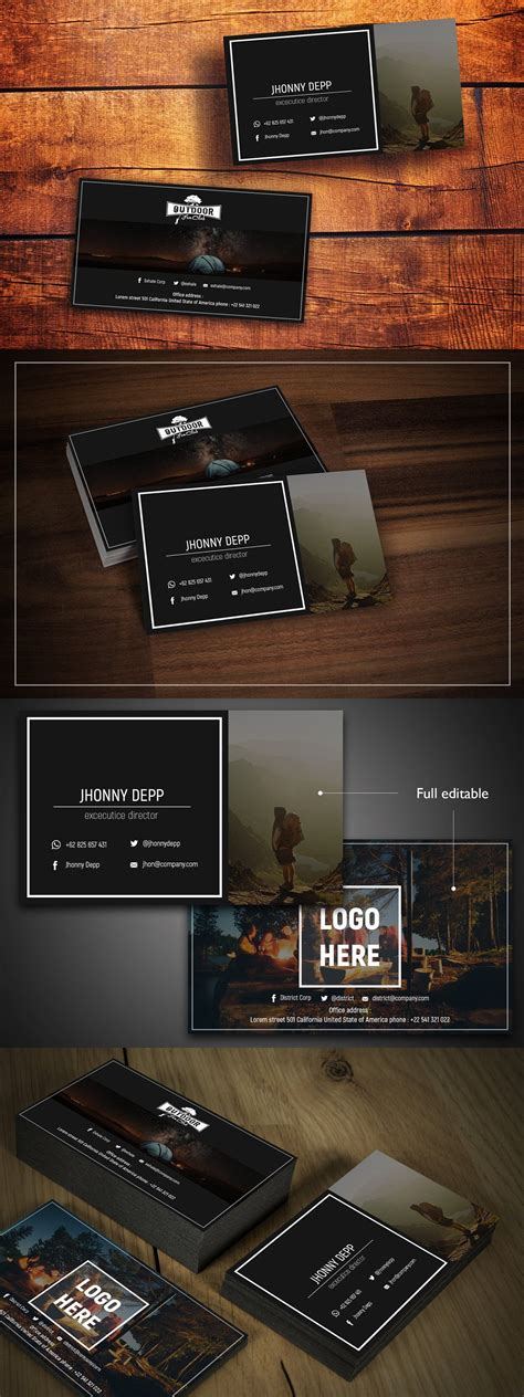 exhale business card templates  images business