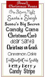 Christmas fonts, Fonts and Christmas on Pinterest