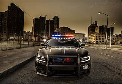 Enforcement Law Police Charger Cars Dodge 4k