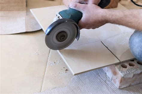 cutting tile learn how to alluringly tile a concrete basement floor