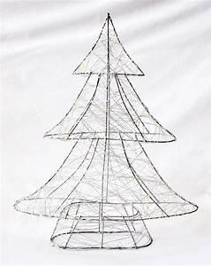 Weihnachtsbaum Aus Draht : weihnachtsbaum 30 leds lichterkette draht baum timer metall baum silber 40cm weihnachten 3d ~ Bigdaddyawards.com Haus und Dekorationen