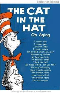 the cat in the hat the cat in the hat on aging humour
