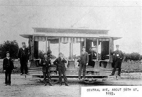 street railway history  los angeles