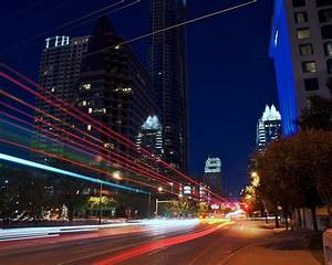 Austin, Texas, USA, city night, road, lights Wallpaper ...