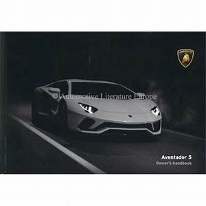 2018 Lamborghini Aventador S Owners Manual English