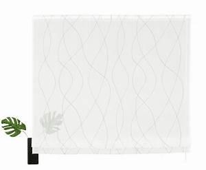 Raffrollo Weiß Grau : raffrollo jay my home mit klettschiene kaufen otto ~ Eleganceandgraceweddings.com Haus und Dekorationen