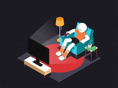 Channel Surfing Markus Magnusson Dribbble Entry Month