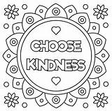 Kindness Coloring Kind Choose Pages Vector Activities Quotes Showing Illustration Printable Clipart Random Vectors Getcolorings Posters Pa Illustrations Gba Kw sketch template