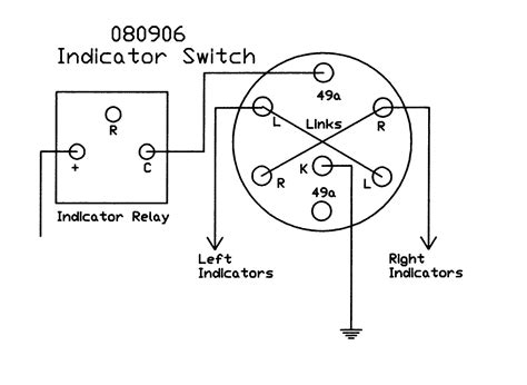 Automobile Wiring Diagram Light Switch by Rotary Switch Black Plastic Lever And Integral