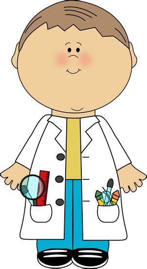 Scientist Clipart Kid Scientist Clip Kid Scientist Vector Image