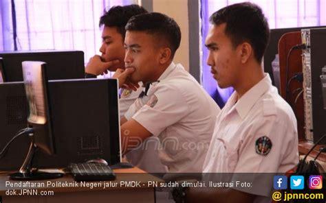 pendaftaran politeknik negeri jalur pmdk pn  dibuka