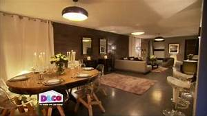 amenagement du salon salle a manger video sur decofr With amenagement salle a manger salon