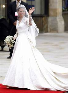 les robes de mariee des stars et celebrites With robe kate middleton mariage
