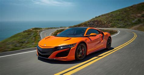 2019 Acura Nsx Gets More 'playful,' Will Turn You Orange
