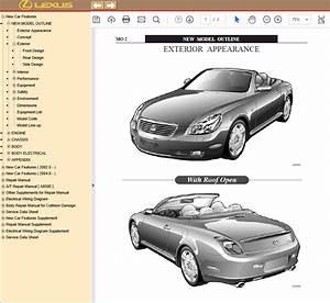 Lexus Sc430  Uzz40  Pdf Manual