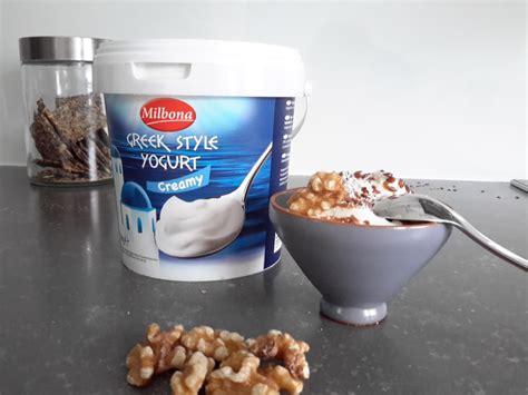 Koolhydraten in yoghurt