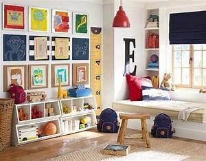 Kinderzimmer Aufbewahrung Ideen : kinderzimmer f r jungs farbige einrichtungsideen ~ Markanthonyermac.com Haus und Dekorationen