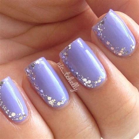 light blue nails 35 amazing glitter nail designs for 2018 pretty designs