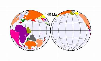 Continental Drift Animation Earth Plates Clipart Deriva