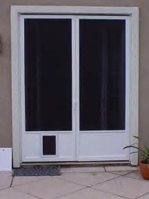 doggie doors for french doors glass patio doors