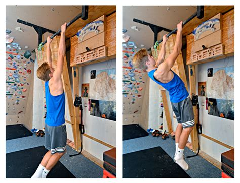 pull up range of motion the best exercise you re not doing the scapular pull up for climbing by eric h 246 rst