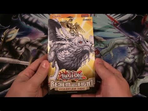 Lightsworn Structure Deck Opening by Yugioh Realm Of Light Structure Deck Opening