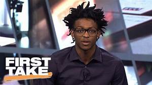 De'Aaron Fox Joins First Take | First Take | June 19, 2017 ...