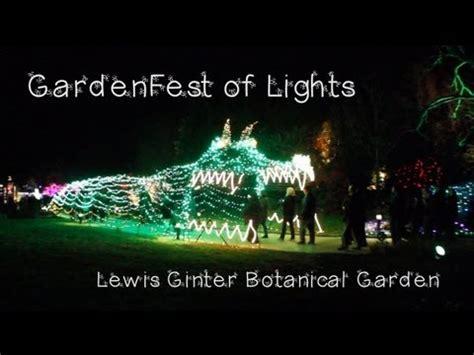 lewis ginter festival of lights gardenfest of lights at lewis ginter botanical garden 2012
