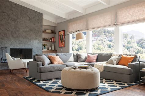 A Comfortable Modern Home With Colorful Accents : Tips For Creating A Comfortable And Cozy Living Room